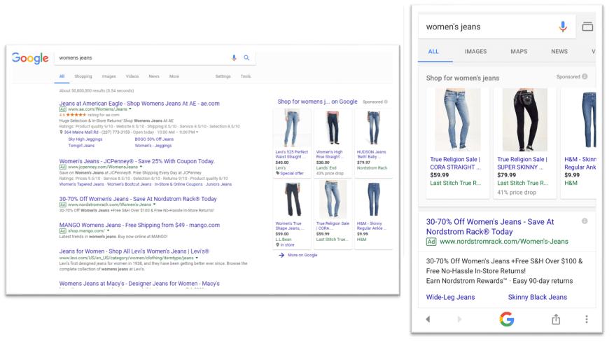 Google en 2018