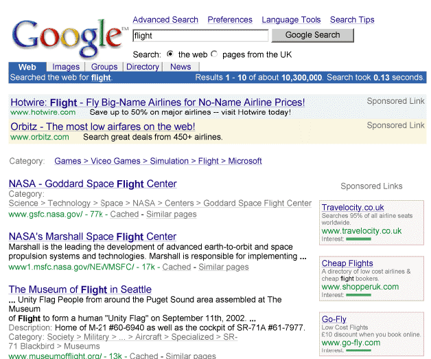 google año 2002