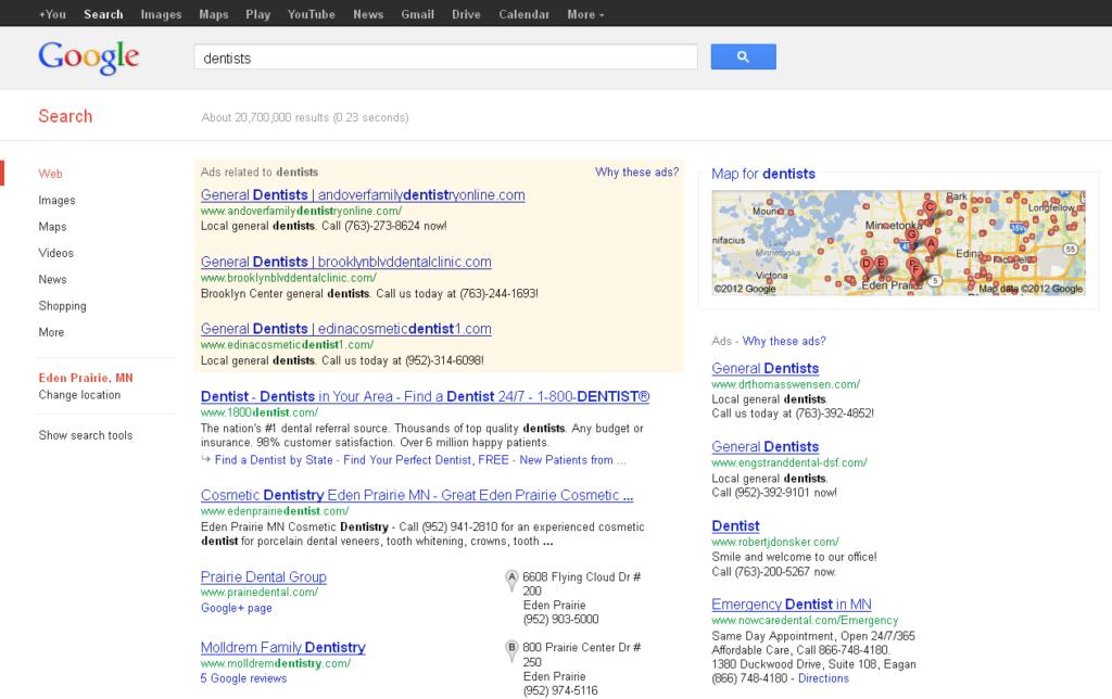 Google 2012 Penguin