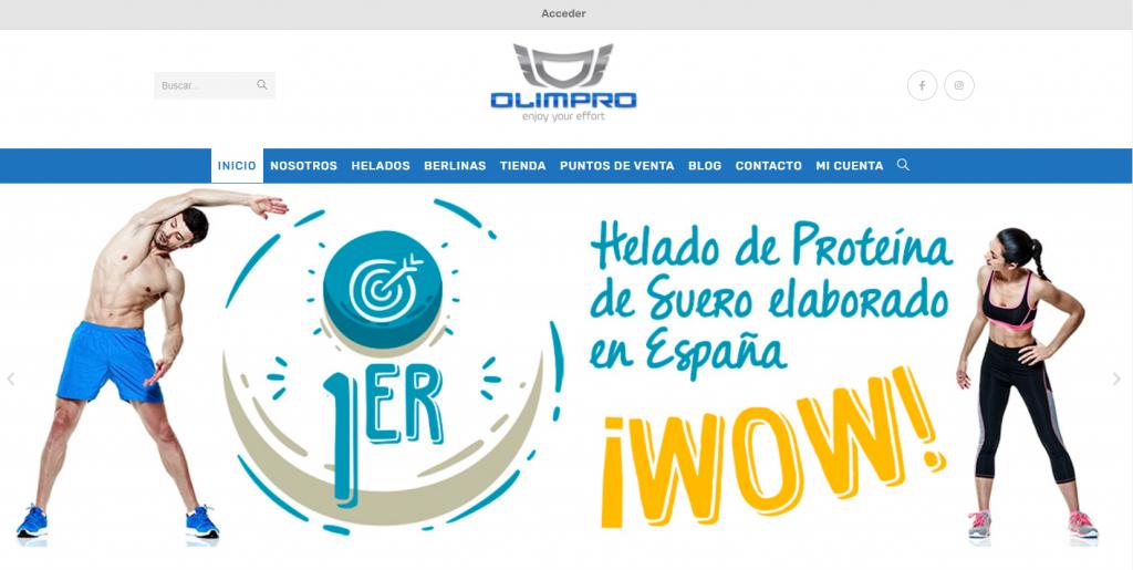 pagina web principal olimpro
