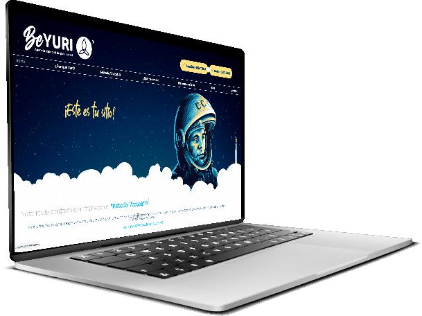 diseño página web Beyuri